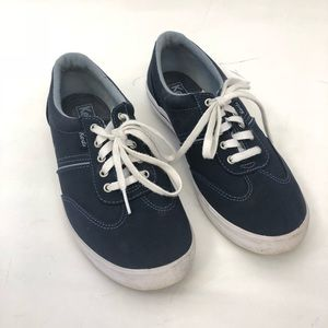 Keds Navy Blue Sneakers Size 6.5